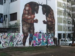 Cool work done on residential buildings in Buenos Aires., Bandit - October 2012