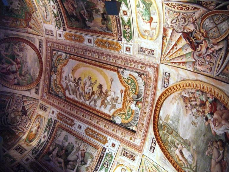 Ceiling Villa d'Este - Rome