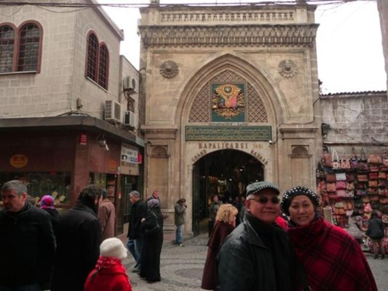 Entrance to the Grand Bazaar - Istanbul