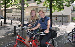 Finally we experienced Paris on two wheels :D Not the last time!!! , Janie S - August 2013