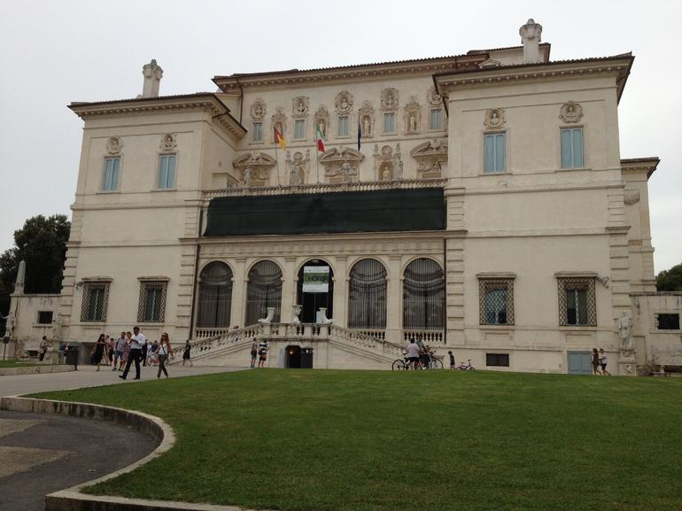 Front of the Borghese Gallery - Rome