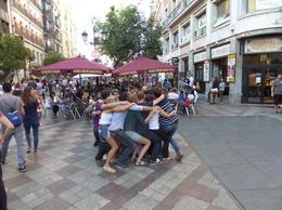 Folkelivet på en lørdags kveld var enormt i området rundt Puerta Del Sol. , Terje I - September 2014
