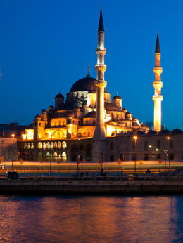 Golden Horn: Twilight by the Bosphorous in Istanbul - May 2011