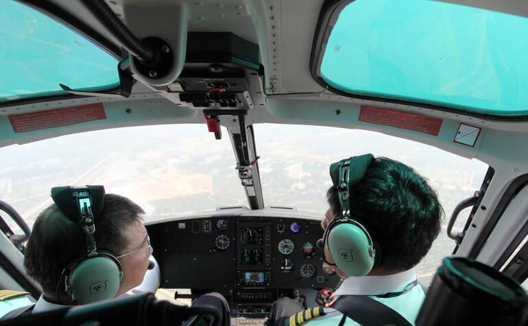 Helicopter - Beijing