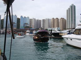 We went on a short cruise in the Stanley area prior to going up to Victoria Peak. , Janet - November 2012