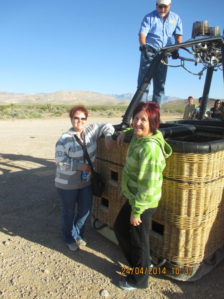 Hot air balloon - Las Vegas