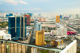 Enjoy views of Las Vegas from the Stratosphere Tower Observation Deck., Viator Insider - January 2018