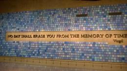 Tiles in the amount of each victim lost in the bombing. , staci s - January 2015