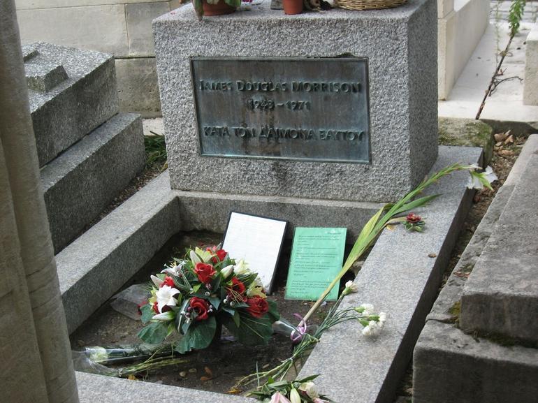 Jim Morrison's Grave - London