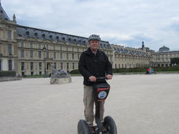 My husband had fun on the segway. , Teri S - June 2013