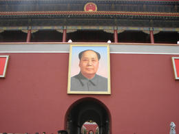 Portrait of Mao in Tiananmen Square., Bandit - May 2012