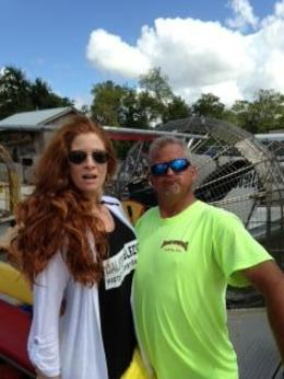 Goof'n with Captain Monkey , Mary Rita S - October 2013