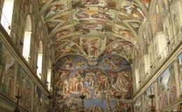 Sistine Chapel, Dawn R - September 2009
