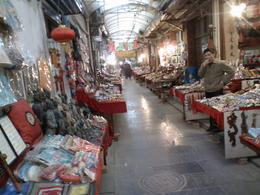 Lots of stalls at the Muslim Quarter - May 2012