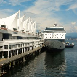 One of the many cruise ships docking at Canada Place. , David Z - July 2016
