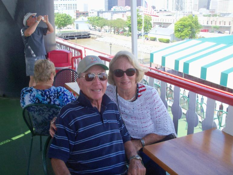 On the Natchez - New Orleans
