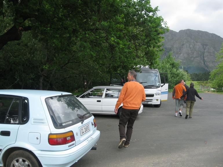 Our minibus - Cape Town
