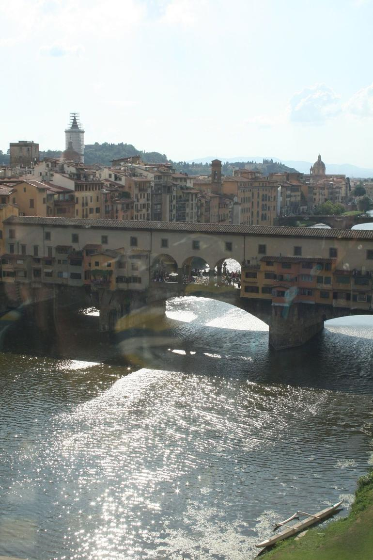 Ponte Vecchio from the Uffizi - Florence