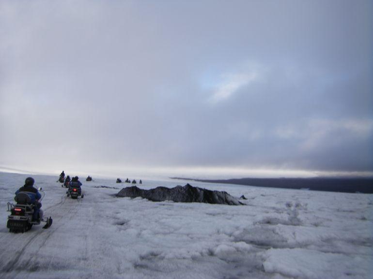 Snowmobiling on the glacier, Reykjavik - Reykjavik