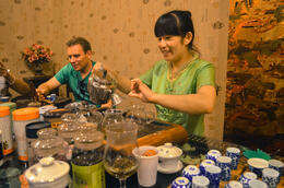 Delicious teas-even though I'm not a tea drinker! , Jessie - August 2014
