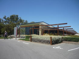 This winery offers taste testing and a restaurant overlooking the grape vines , Deb - January 2014