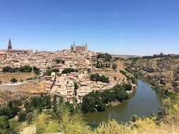 Toledo's panoramic city view , Chandan M - June 2016