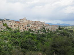 Picturesque hill town in Provence , Colleen H - June 2013