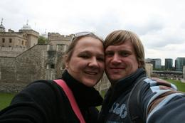 About to take a tour in the tower of London,, Almari K - May 2010