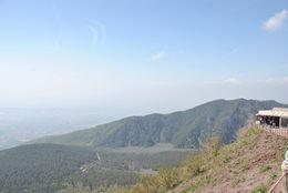 Photo taken from the top of Mt. Vesuvius , Richard K - May 2015