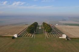 View from the top of the Australian memorial at Villers Bretonneux. - December 2009