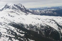 Snowy peaks, Jeff - August 2013