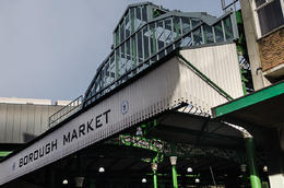Main Entrance to Borough Market , KL1NGON - January 2017
