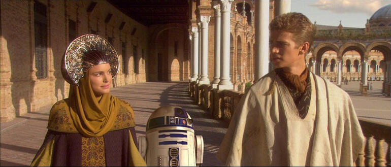Anaikin and Padme in Seville - Seville