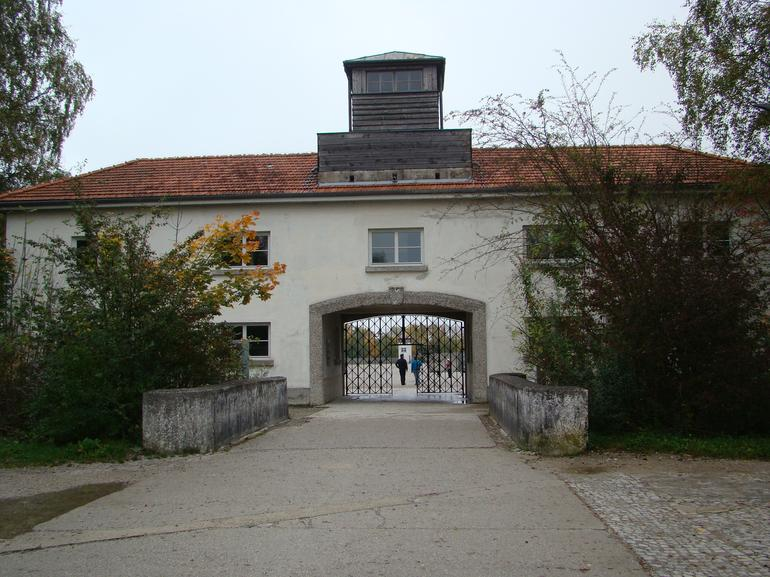 Entrance gate to Dachau - Munich