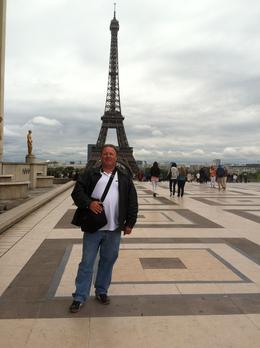 Eiffel Tower from Troccaderro , Anton H - June 2012
