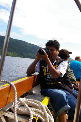 Our boat trip on Lake Windemere , Marilyn K - August 2011