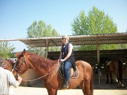 on my horse, Joanne G - May 2010