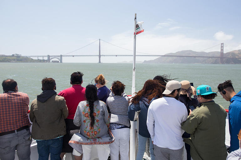 Straight to the Gate Access: Golden Gate Bay Cruise photo 12