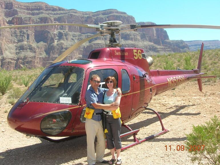 Helicopter Flight at the Grand Canyon - Las Vegas