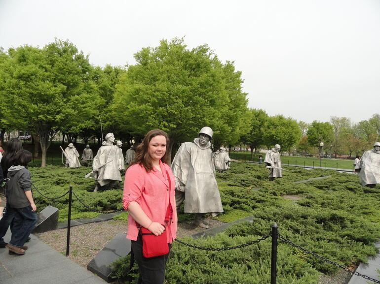 Korean War Monument - Washington DC