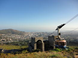 View of Cape Town and the Cable Car, Nick - March 2012