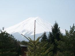 Mount Fuji, Pauline T - March 2009
