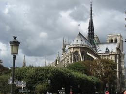 Here's a back view of Notre Dame as seen from the Ile St. Louis - September 2009