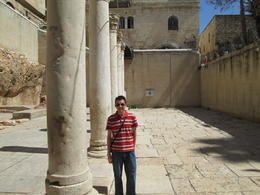 Old Jewish Quarters - in Old City, Jerusalem , Barry F - June 2014