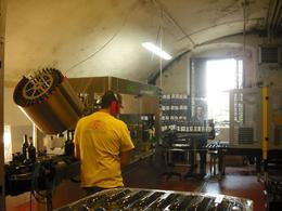 Making wine!, Frances - June 2010