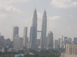 The Petronas Towers in the distance., Tighthead Prop - September 2010