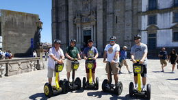 Fathers, sons and friends enjoying Porto Segway tour. , Tim S - July 2016