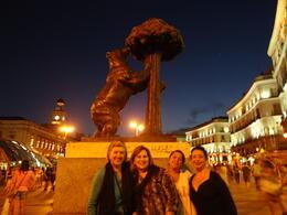 praça onde tem o o monumento que representa o símbolo de MADRID. , ivete azambuja g - August 2013