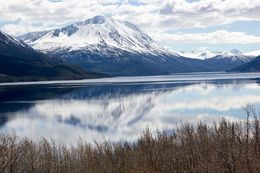 Perfect day in Alaska. Sunny and glass-smooth water for reflecting the mountain. , Dr_R - May 2016