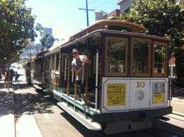 On the trolley!, Kierra - August 2014